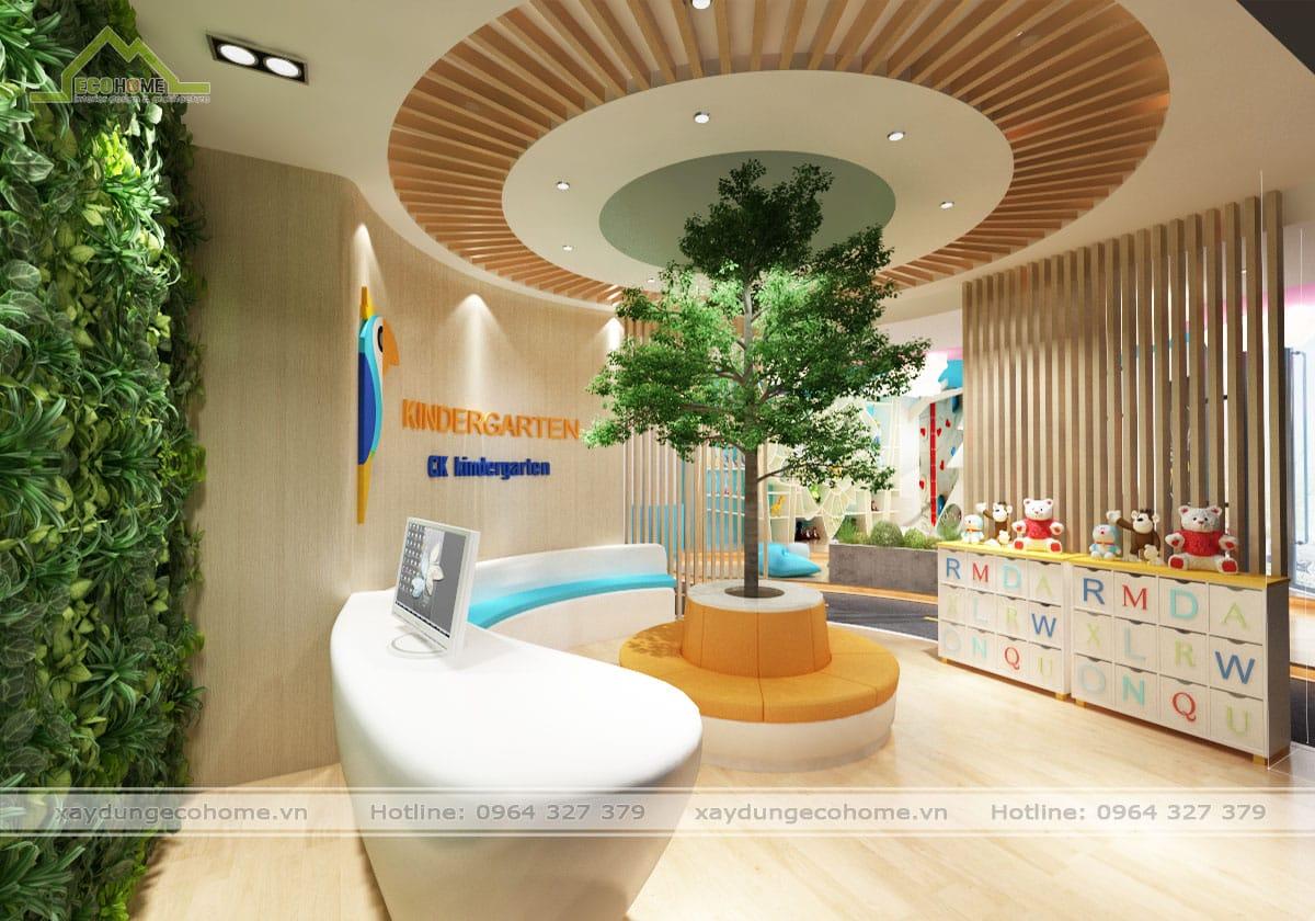 thiết kế trường mầm non kindergarten