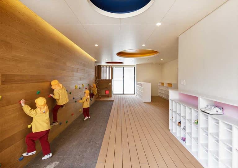 Thiết kế trường mầm non Nhật Bản