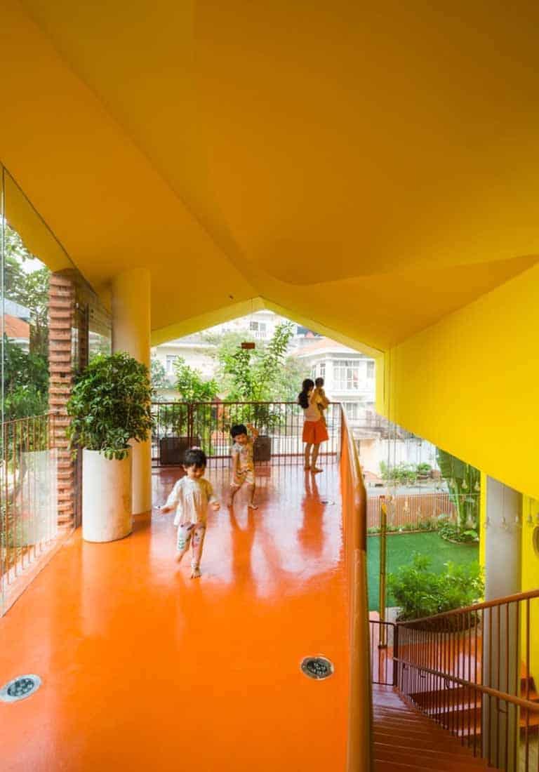 Thiết kế trường mầm non Sài Gòn