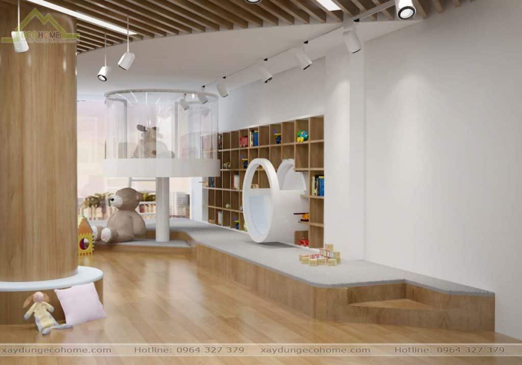 Thiết kế nội thất trường mầm non