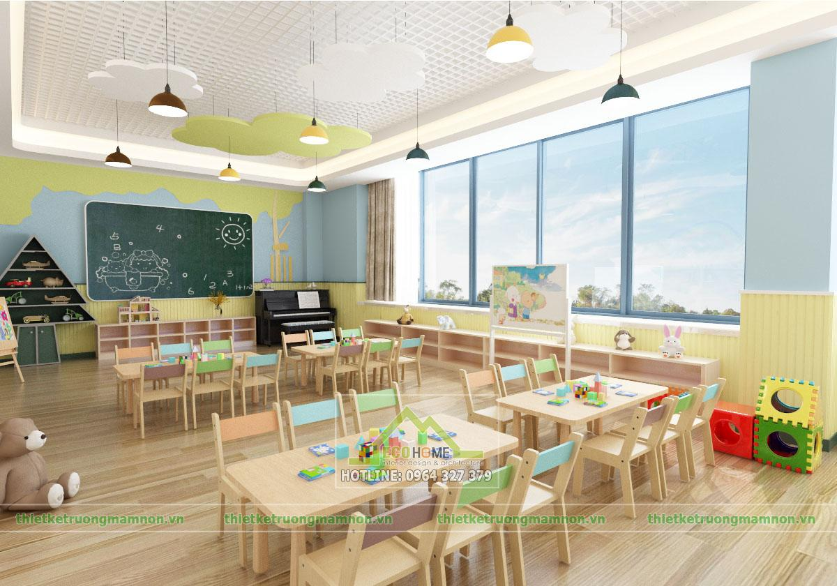 Thiết kế trường mầm non quận đống đa