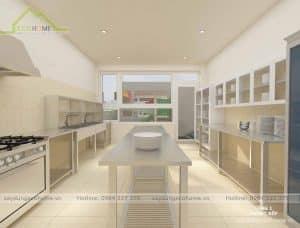 Thiết kế Bếp trường mầm non