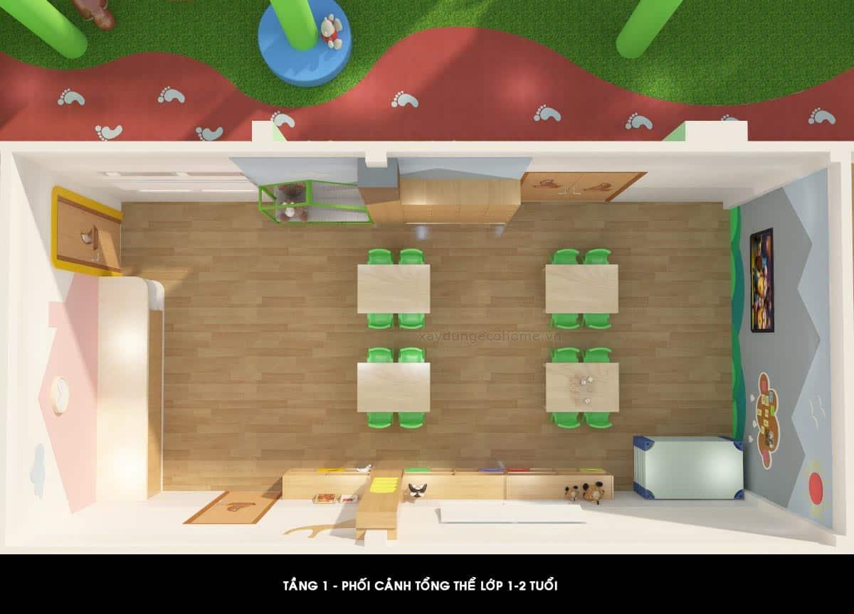 Thiết kế trường mầm non