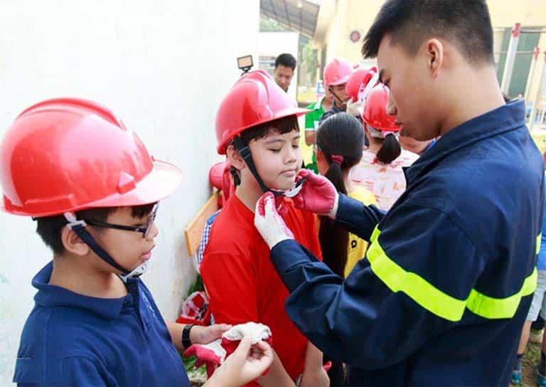 Phòng cháy chữa cháy trường mầm non