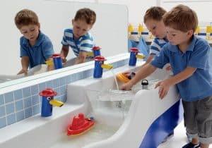 Thiết kế nhà vệ sinh trường mầm non