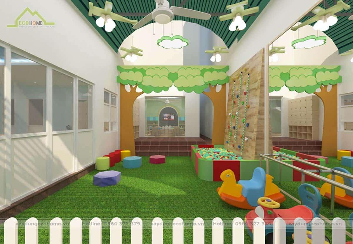 Thiết kế trường mầm non cơ sở 2