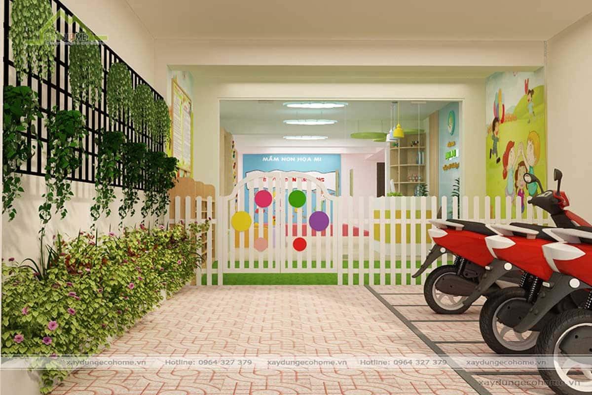 Thiết kế trường mầm non Phủ Lý Hà Nam
