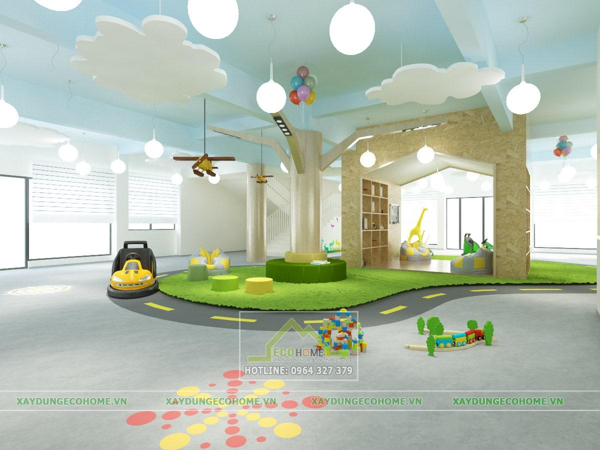Thiết kế trường mầm non tại quận đống đa