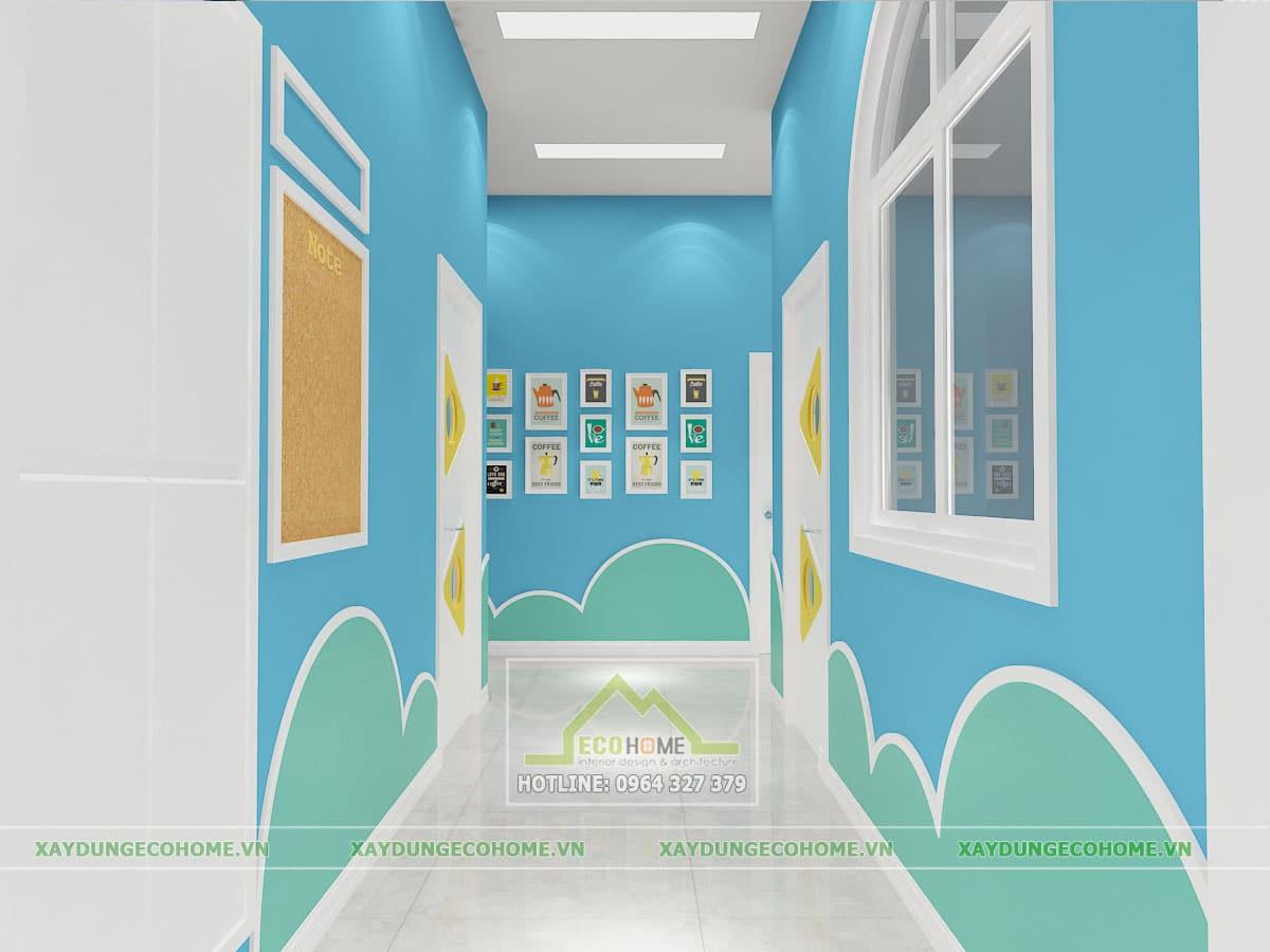 Thiết kế trường mầm non quận nam từ liêm hà nội