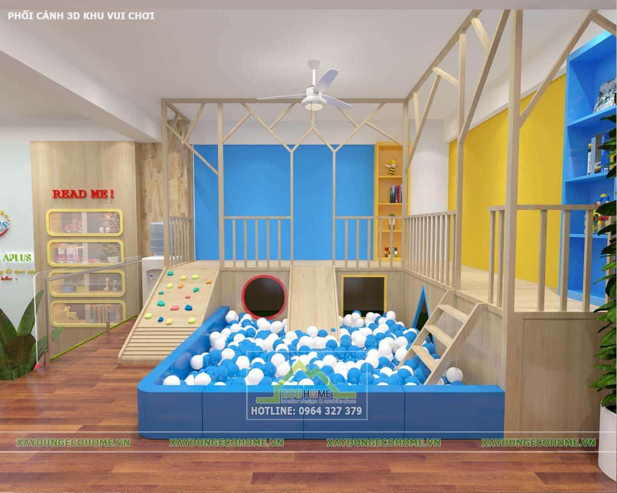 Thiết kế trường mầm non Đông Anh