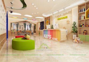 Thiết kế trường mầm non Kid's Home tại TP Hải Dương